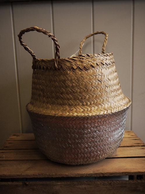 Belly Basket - Silver - Medium
