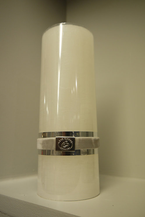 Tall White Lene Bjerre Candle