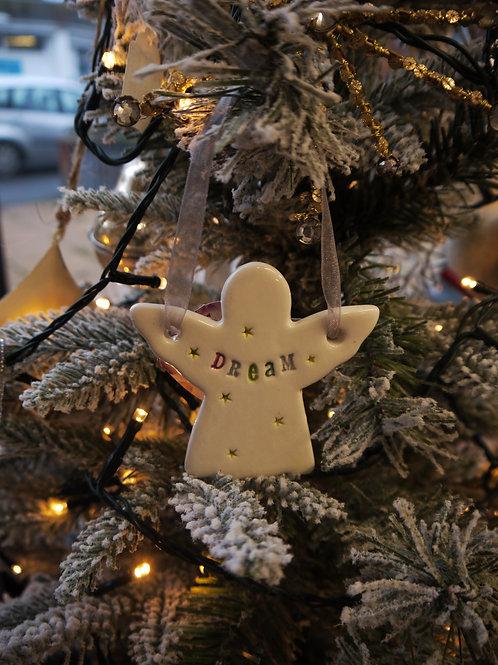 Handmade Ceramic Angel - Dream