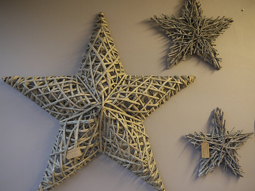 Giant Wicker Star