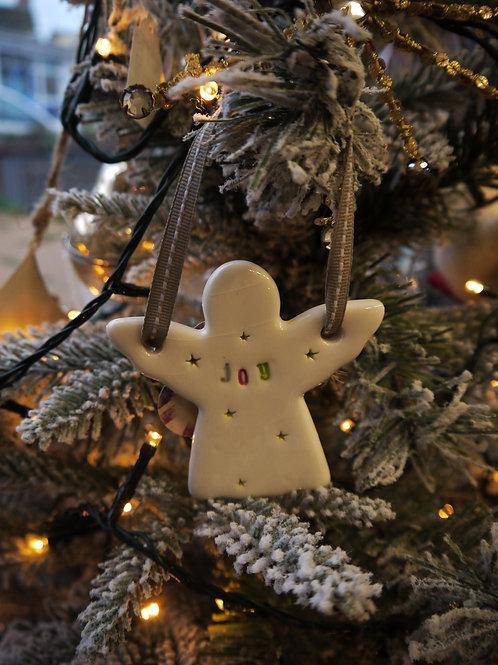 Handmade Ceramic Angel - Joy