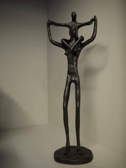Metal Figurines - Father's Shoulders