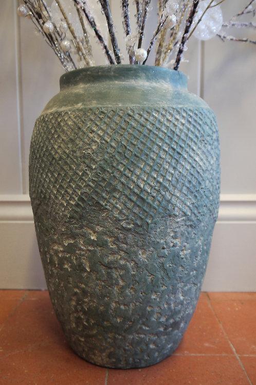Vesiebio Textured large Jar or Vase