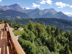 vue balcon été