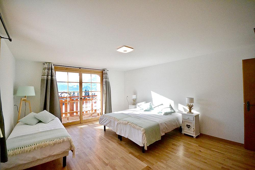 chambre 3 lits 1er