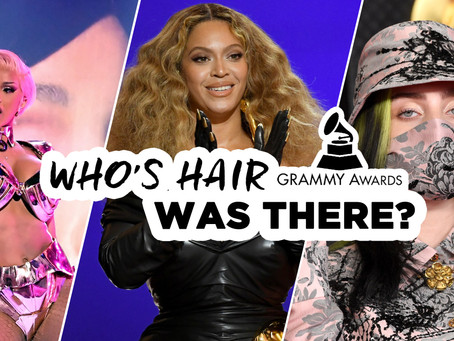 Who's hair was there? | Grammy's 2021