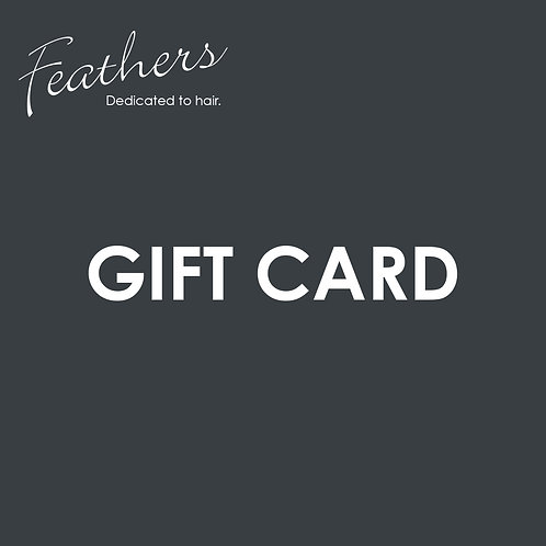 Feathers Gift Card