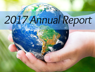 """2017 Annual Report: """"Be the Change You Want to See in the World"""""""