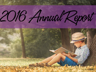 "2016 Annual Report: ""This is My Story!"""