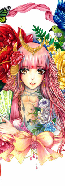 Flower Song In Fan_Completed (smaller).j