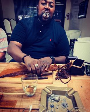 Cigar Rolling Class w/Master Roller