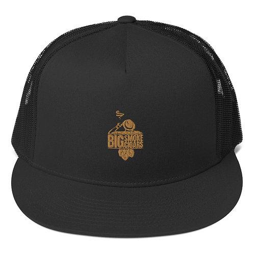 Big Smoke Gold Trucker Cap