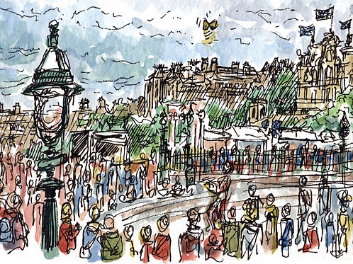 Advanced sketching - people and crowds: 26 April 2021 12.30pm-4pm