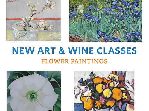 Art + Wine Evening: 25 March 2021 6pm-9pm