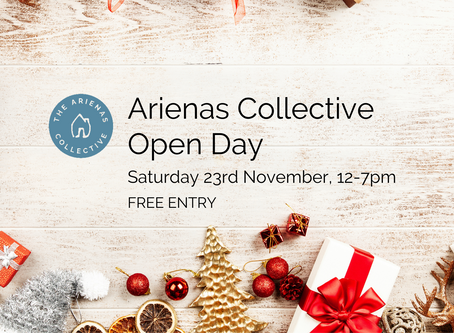 Free Arienas Collective open day, 23rd November