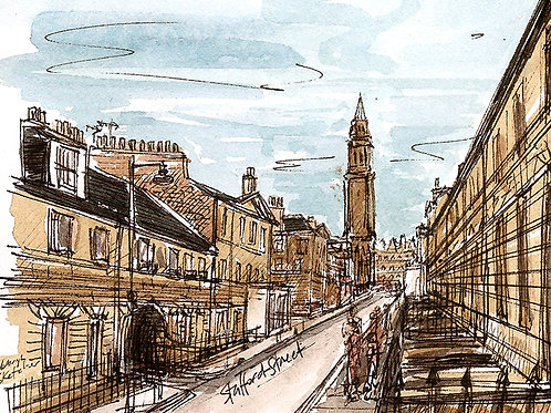 Advanced sketching - Georgian landscapes: 26 March 2021 10am-1.30pm