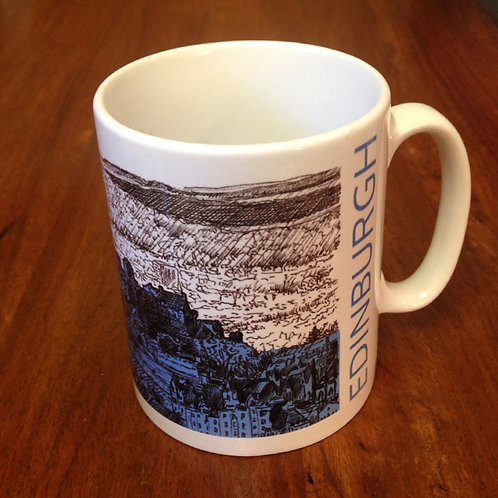 Edinburgh Sketcher - Edinburgh Castle mug