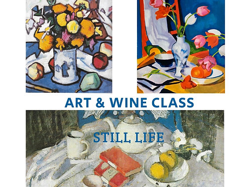 Art + Wine Evening: 27 May 2021 6pm-9pm
