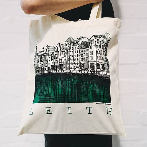 Edinburgh Sketcher - Leith tote bag