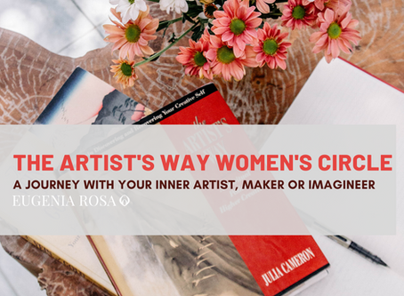 Practising The Artist's Way - exploring your innate creativity (new course)
