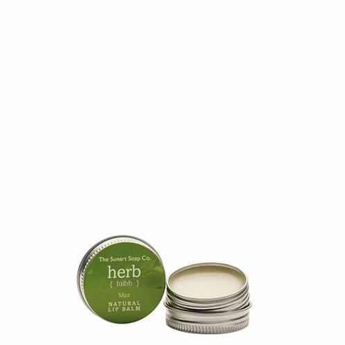 The Sunart Soap Co - Mint lip balm 15g