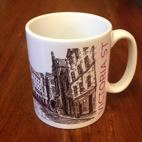 Edinburgh Sketcher - Victoria Street mug