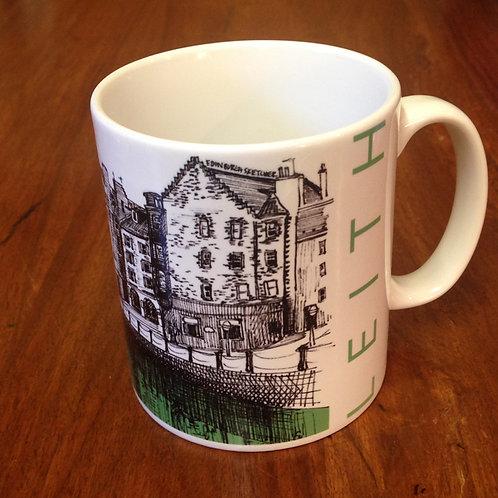 Edinburgh Sketcher - Leith mug