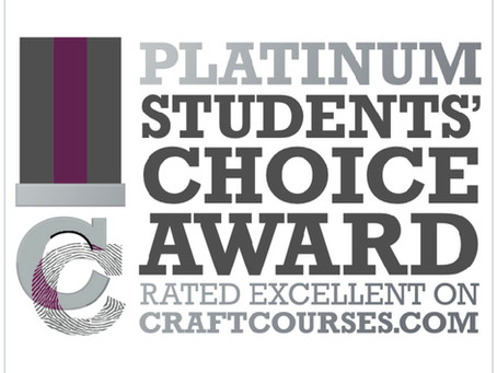 Thank you for helping us achieve our Platinum student choice award