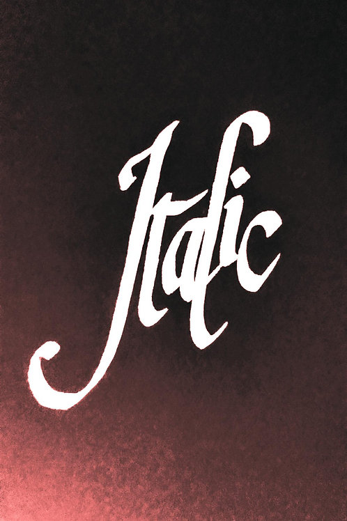 Introduction to italic calligraphy: 26 June 2020 11am-4.30pm