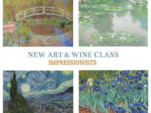 Art + Wine Evening: 28 January 2021 6pm-9pm