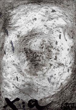 Paisaje lunar XI 27x19
