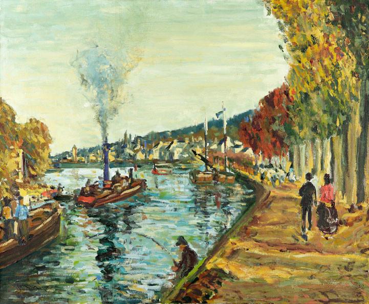 Le Seine- Paris 50x61