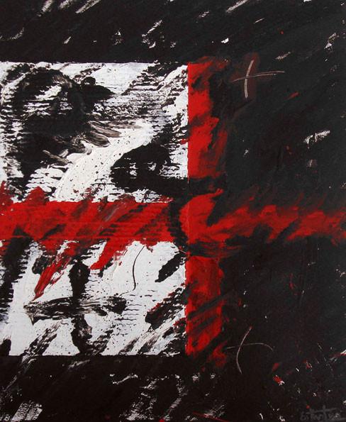 Cruz roja 73x60