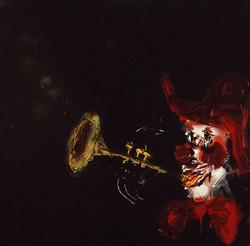 Clown trompetista 130x130