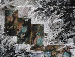 Caida de meteorito 90x116