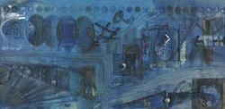 Retablo Azul 153x310