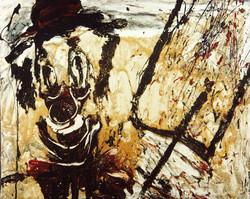 Clown pintor 65x82