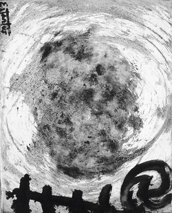 Paisaje lunar II 41x33