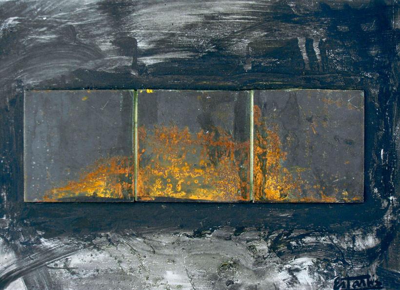 Fuego de san juan 54x65