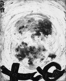 Paisaje lunar III 41x33