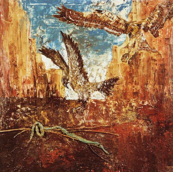 Aguilas y serpientes