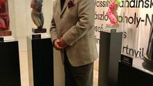Estartús en el Museo Thyssen Bornemisza colaborando en la subasta a beneficio de los Mensajeros de l