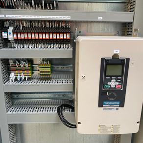 Armoire électrique, gestion de cabine de peinture