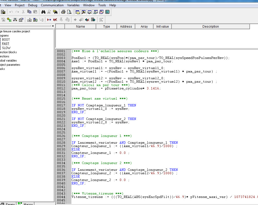 programmation mdplc