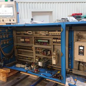 Rénovation automatisme et variateur d'une extrudeuse Theysohn