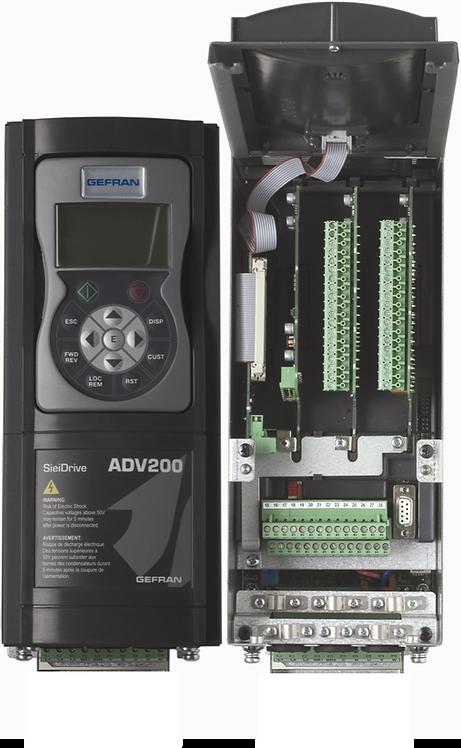 ADV200 Gefran | Variateur à contrôle vectoriel de flux