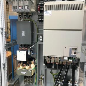 """Fabrication d""""une armoire variateur 250kW"""