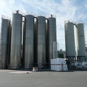 Mesure de matière sur silos