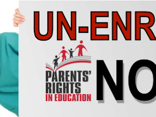 Time to Un-Enroll & Take a Stand