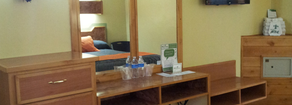 vista tocador cama 2 Habitación Doble Standard
